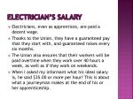 electrician s salary