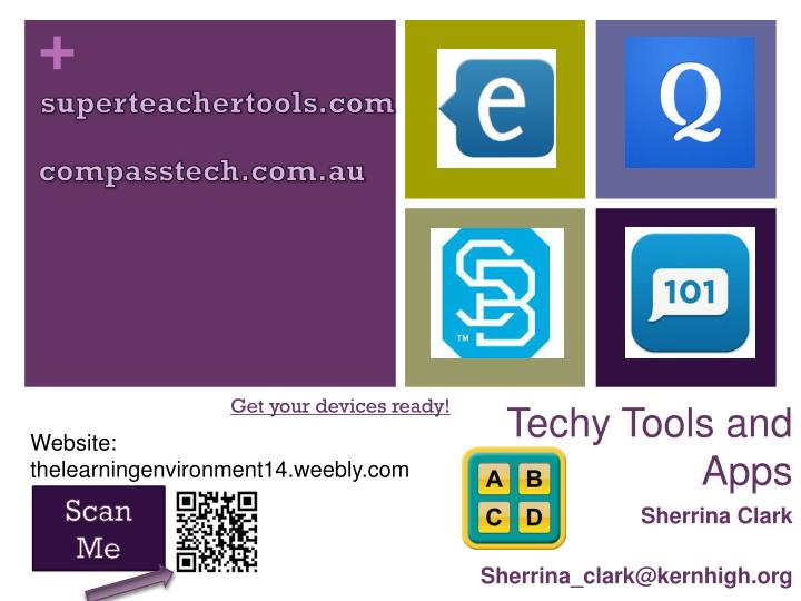 techy tools and apps