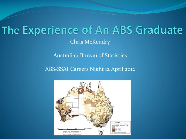 the experience of an abs graduate n.