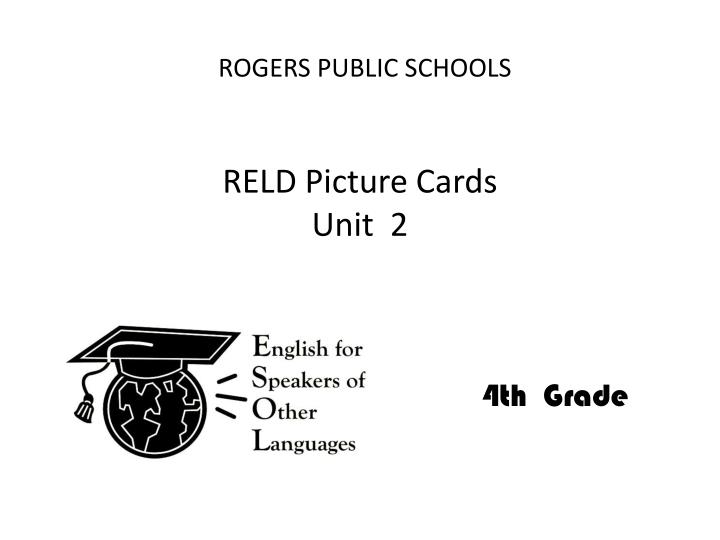 reld picture cards unit 2 n.