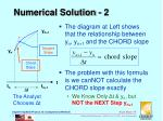 numerical solution 2
