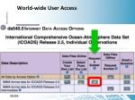 world wide user access1