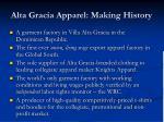 alta gracia apparel making history