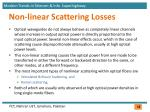 non linear scattering losses