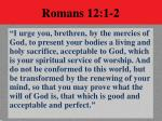 romans 12 1 2