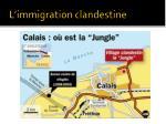 l immigration clandestine