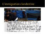 l immigration clandestine1