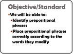 objective standard