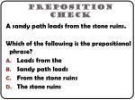 preposition check1