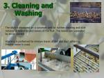 3 cleaning and washing