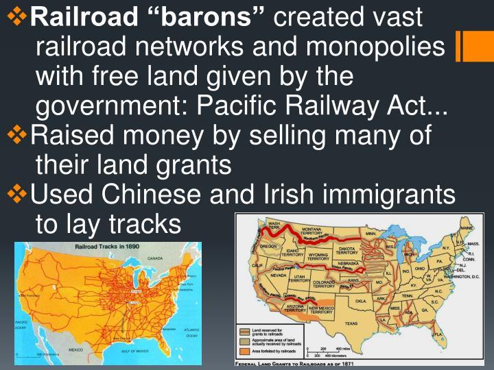 "Railroad ""barons"""
