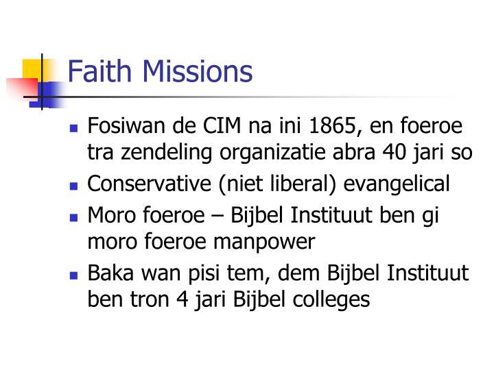 Faith Missions