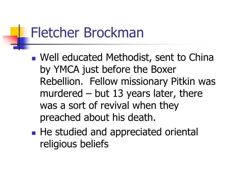 Fletcher Brockman