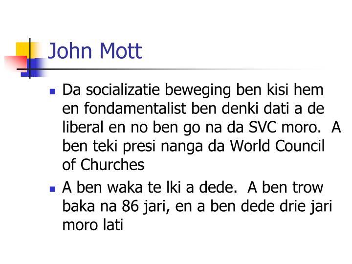 John Mott