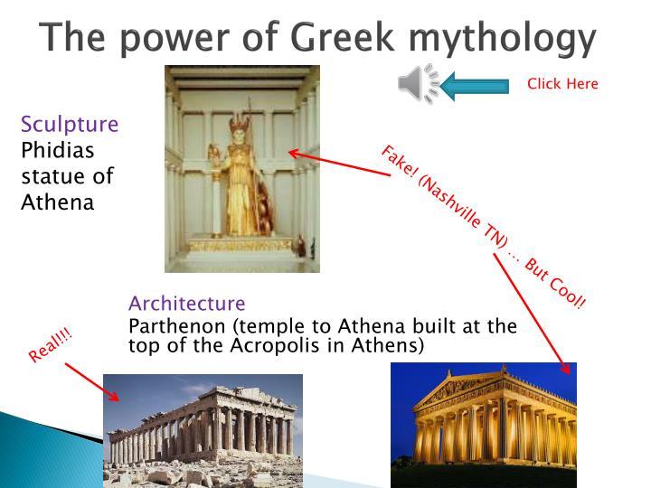 The power of Greek mythology