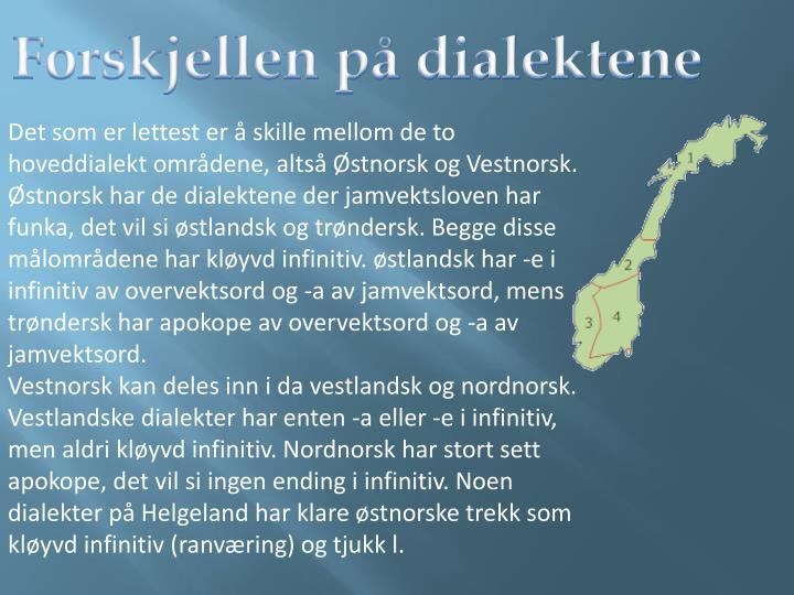 norske dialekter Oslo