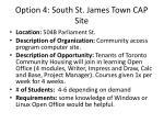 option 4 south st james town cap site