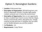 option 5 kensington gardens