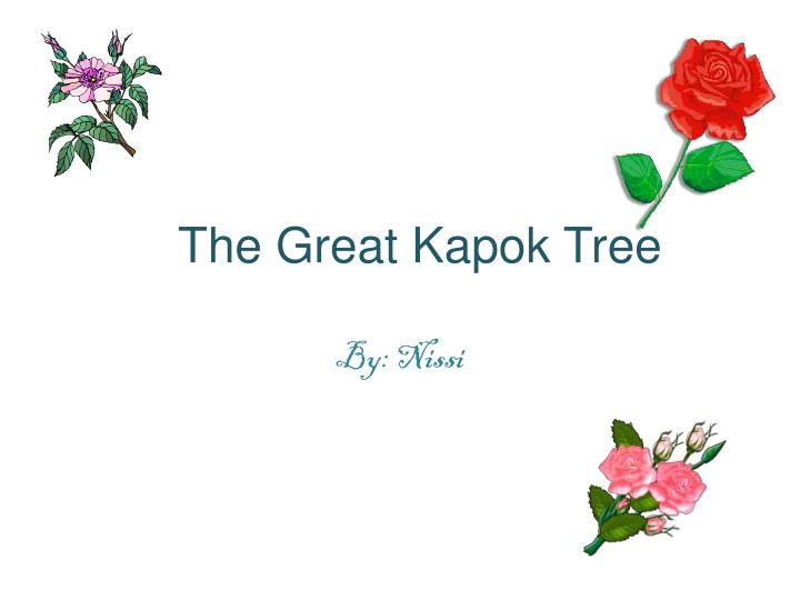 the great kapok tree n.