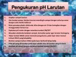 pengukuran ph larutan