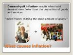 what causes inflation