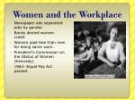 women and the workplace