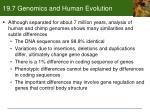 19 7 genomics and human evolution