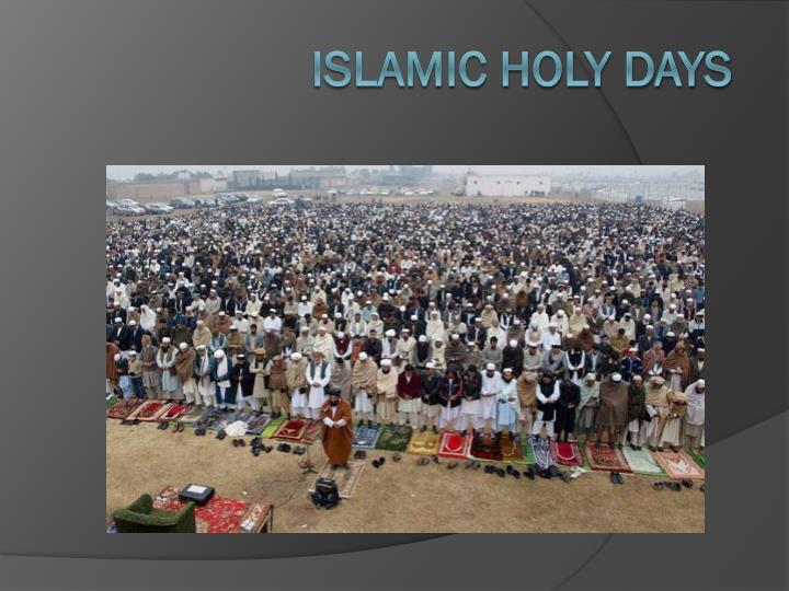 islamic holy days n.