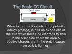the basic dc circuit