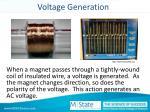 voltage generation