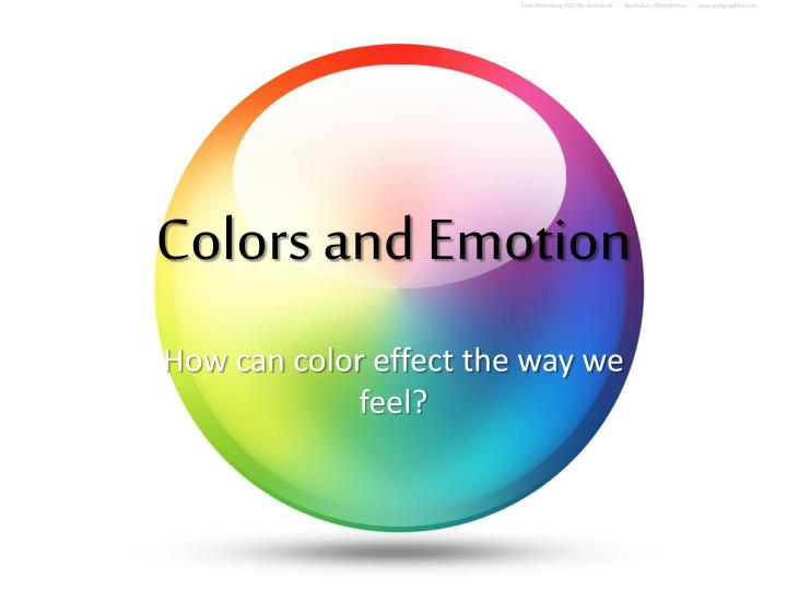 colors and emotion n.