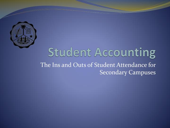student accounting n.