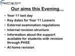 our aims this evening