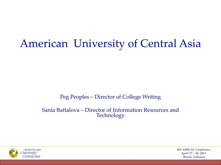 american university of central asia n.