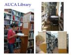 auca library