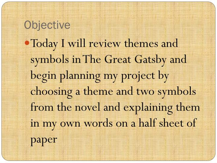 Ppt The Great Gatsby Project Powerpoint Presentation Id2115954