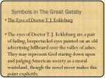 symbols in the great gatsby2
