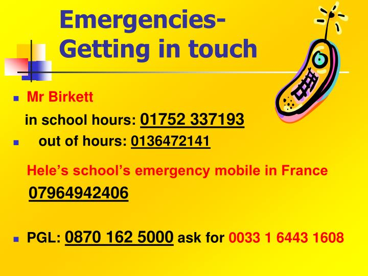 Emergencies-