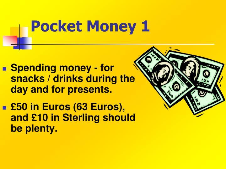 Pocket Money 1