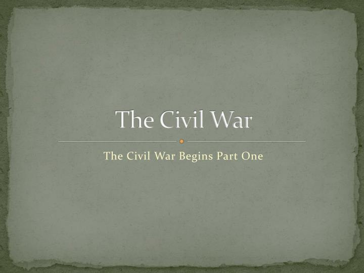 the civil war n.