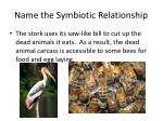 name the symbiotic relationship5