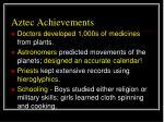 aztec achievements1