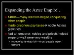 expanding the aztec empire1