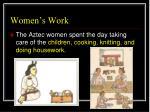 women s work1