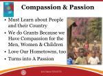 compassion passion