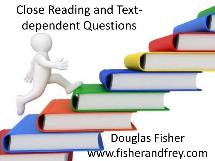 close reading and text dependent questions n.