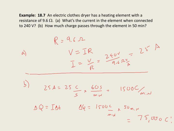 Example:  18.7