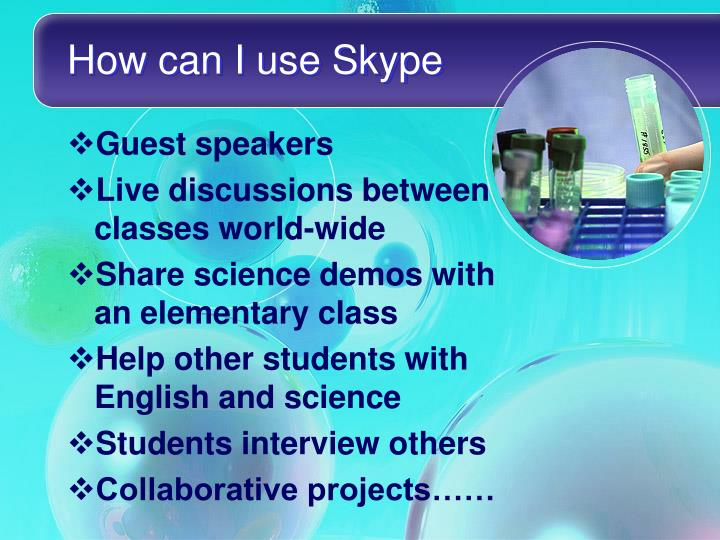 How can I use Skype
