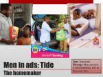 men in ads tide the homemaker