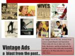 vintage ads a blast from the past